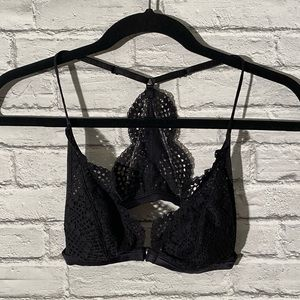 Victoria's Secret Black Racerback Bralette
